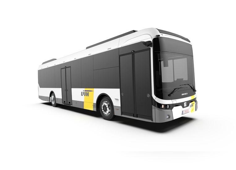 Zo zien de nieuwe elektrische bussen er uit, zonder spiegels.