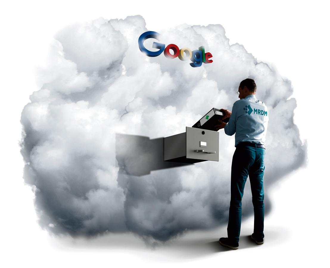 De medische gegevens van vele honderdduizenden Nederlandse ziekenhuisbezoekers worden tegenwoordig door commerciële bedrijven verwerkt, en zitten sinds kort zelfs in de cloud van techreus Google.
