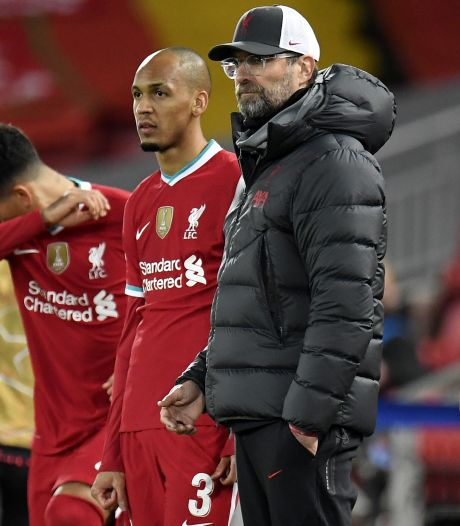 Klopp na nederlaag Liverpool: 'Duim omhoog, geen blessures, we gaan gewoon door'