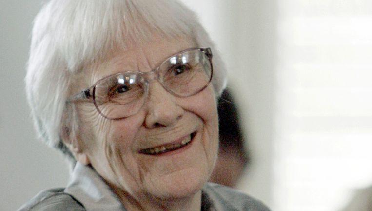 De auteur Harper Lee in 2007. Beeld ap
