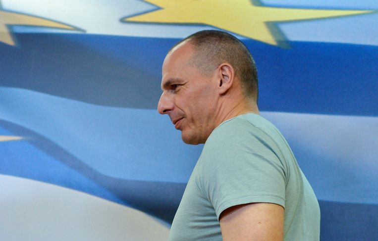 Yanis Varoufakis. Beeld anp
