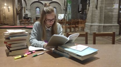 Jongeren kunnen opnieuw in stilte studeren in de Sint-Maartenkerk