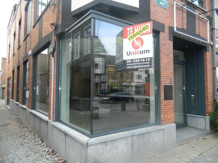 Het hoekpand waar vroeger Soup@Me zat, wordt ook al een werkwinkel voor dienstencheques.