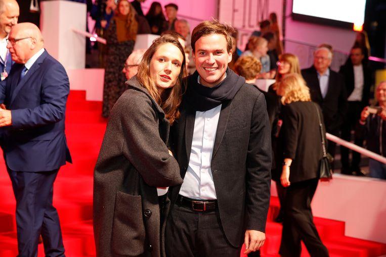 Mathias De Clercq en zijn vriendin