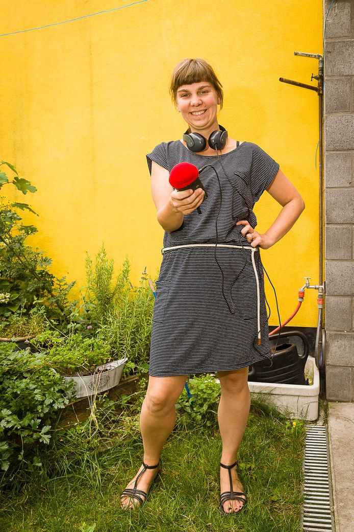 Radiomaakster Eva Moeraert.