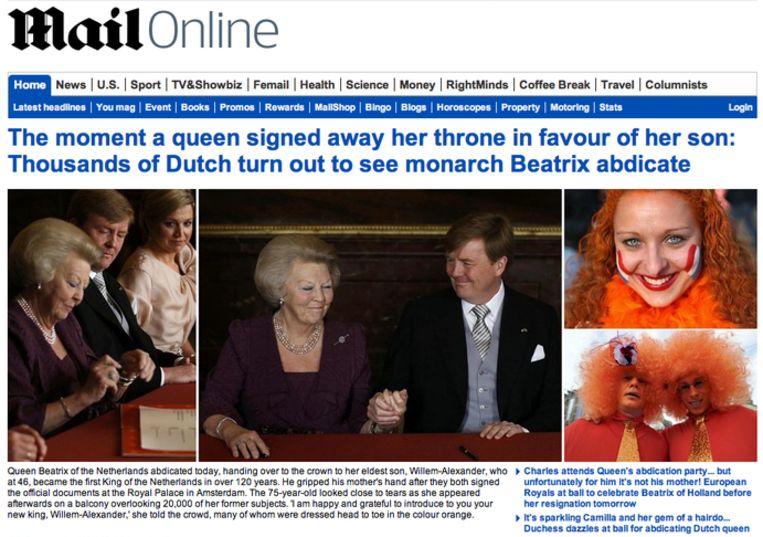 null Beeld mailonline.co.uk
