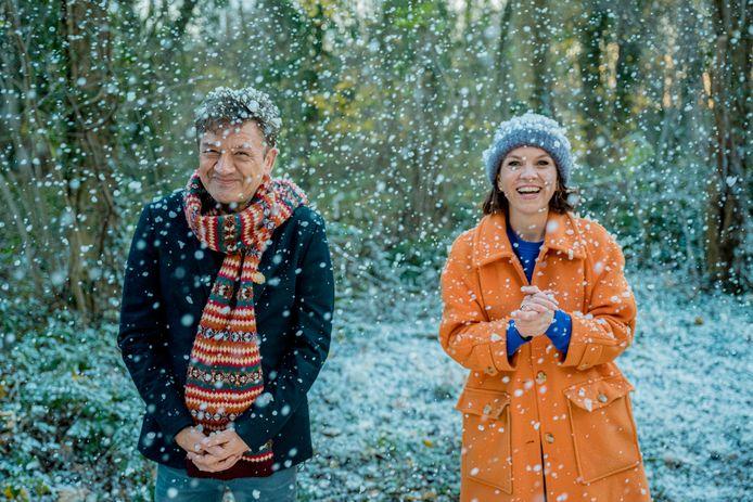 Siska Schoeters en Bart Peeters presenteren 'De warmste dankuwel van het jaar'