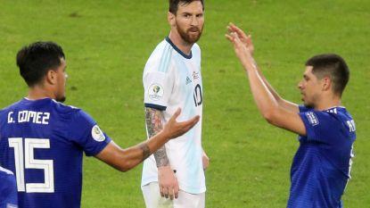 Argentinië ontsnapt aan tweede nederlaag op Copa America dankzij Messi