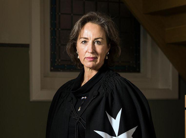 Geneviève van Panhuys (53) van de Johanniter Orde Beeld Jiri Buller
