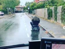 Ook Nijmeegse dief op scootmobiel krijgt politie-escorte naar het bureau
