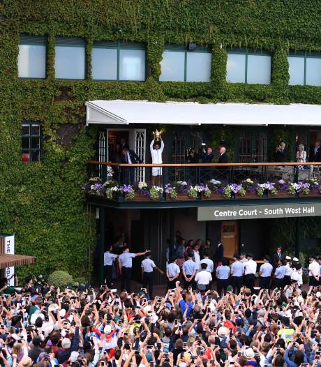 Wimbledon zingt het wel een jaartje uit