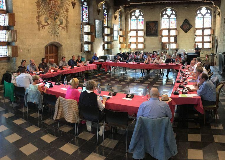 De gemeenteraad in Oudenaarde wordt voorlopig niet gelivestreamd op het internet.