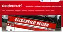 De website van Gelderesch Reizen.