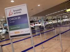 Brussels Airport pratiquement désert