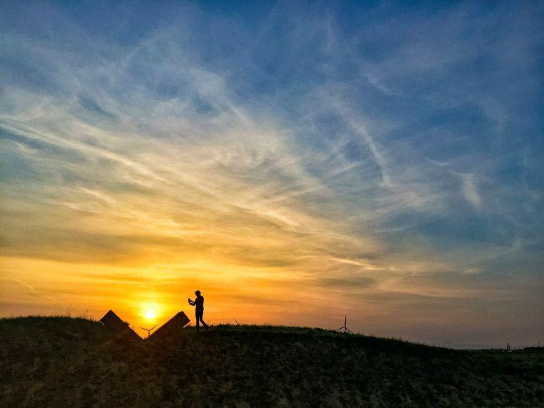 Zonnewende bij het Observatorium. Beeld Hollandse Hoogte / Dolph Cantrijn