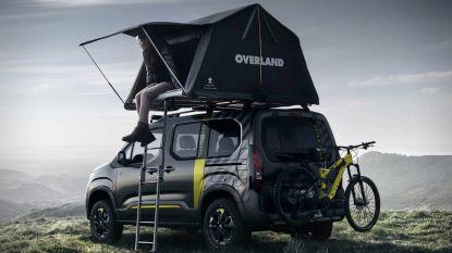 Concept 4x4 met tent én mountainbike