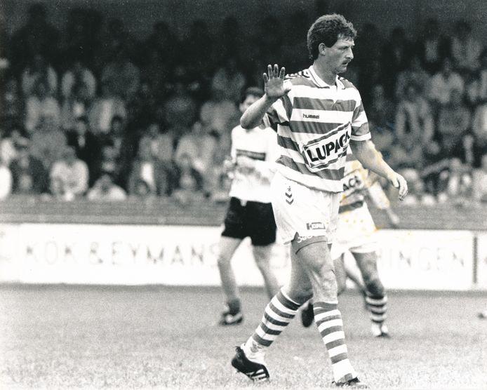Ernie Brandts in zijn tweede periode als speler van De Graafschap, in het seizoen 1991-1992.