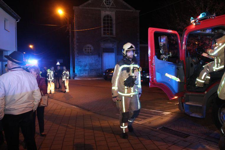 De brandweer registreerde gevaarlijke CO-waarden.