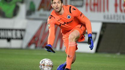 Uitgeleende doelman van Club Brugge krijgt rijverbod voor snelheidsovertreding