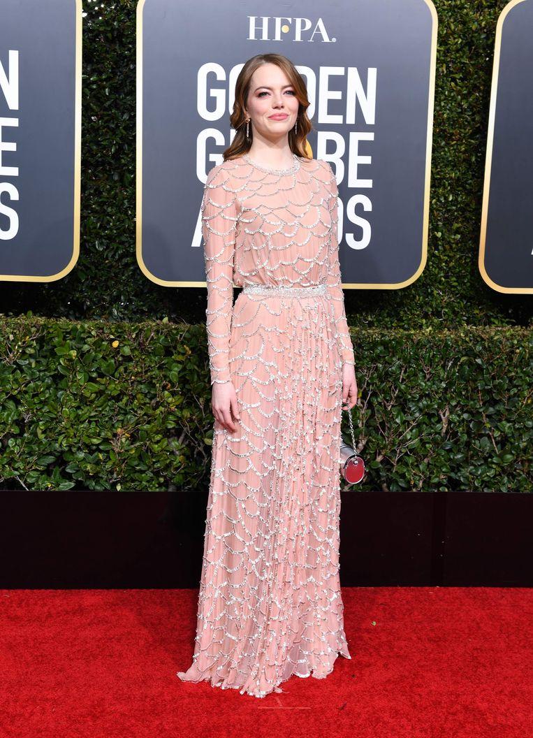 Emma Stone, genomineerd voor beste bijrol in 'The Favourite'.