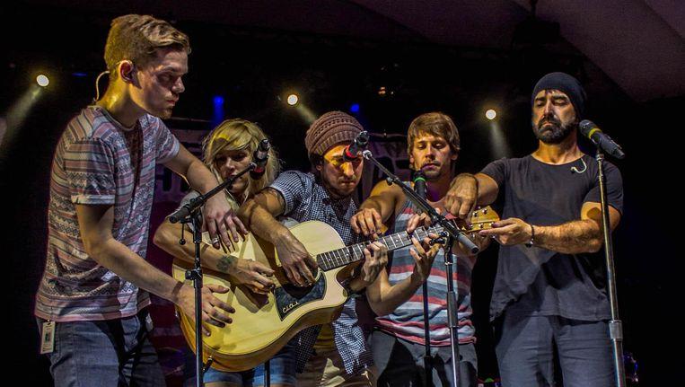 De band maakte onder meer faam met covers van de Beatles, Nirvana en Radiohead Beeld Tjchampagne via Flickr.