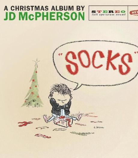 Kerstplaat van McPherson geheel in de stijl van McPherson