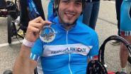 Maarten Keusters bereikt in ligfiets top van Mont Ventoux