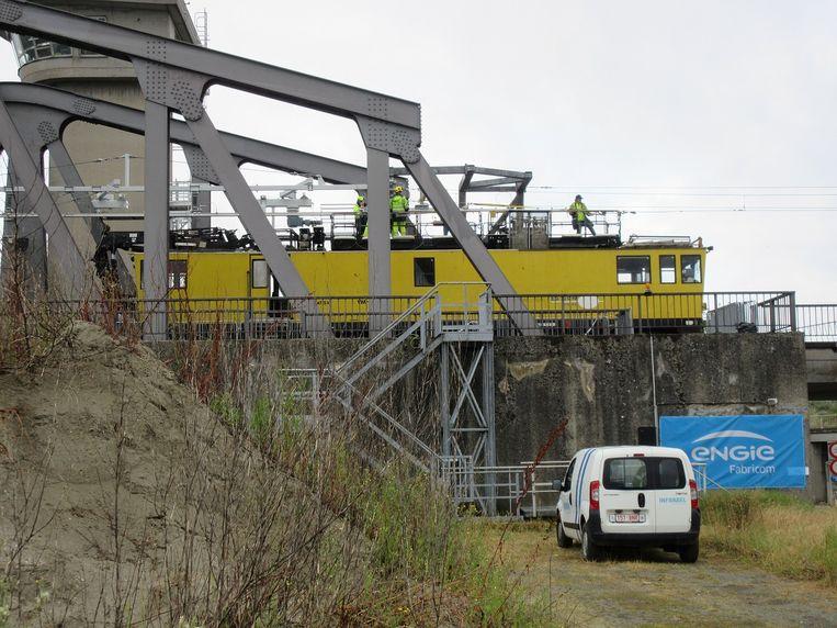 In augustus werd de Nijverheidsbrug over het Zeekanaal in Ruisbroek nog volledig gemoderniseerd.