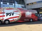 Kampioenschap PSV nu ook zichtbaar op spelersbus