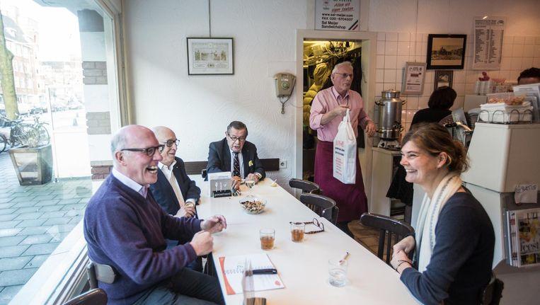 De beroemde broodjeszaak opent in oktober aan de Buitenveldertselaan. Beeld Eva Plevier