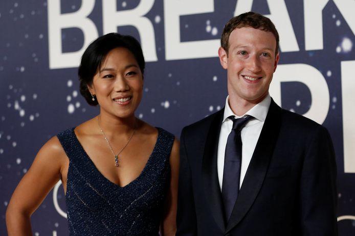Mark, hier met zijn vrouw Priscilla in 2017.