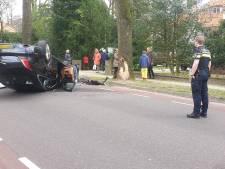 Bestuurder raakt gewond bij eenzijdig ongeluk op Kwakkenbergweg in Nijmegen