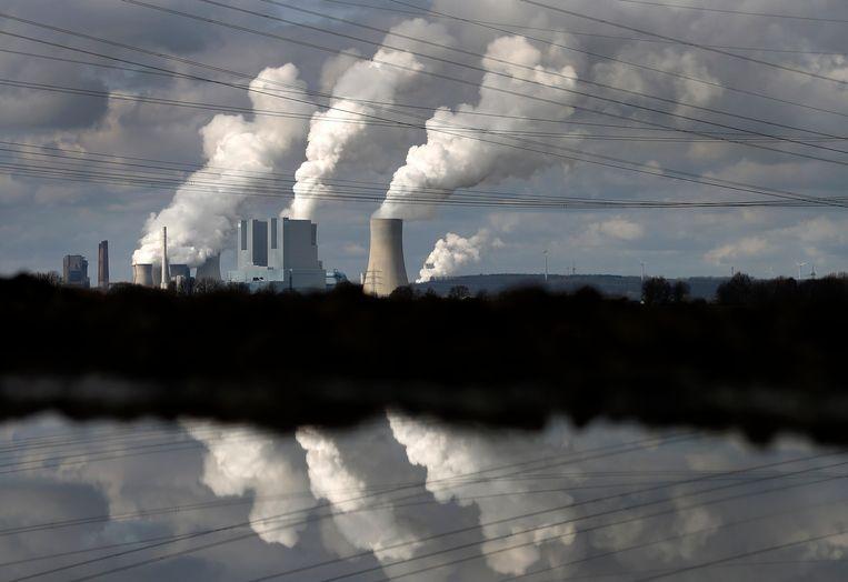 Een kolencentrale in het Duitse Neurath. Beeld REUTERS