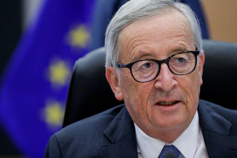 De uittredende voorzitter van de Europese Commissie, Jean-Claude Juncker