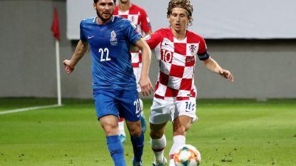 EK KWALIFICATIES. Kroatië lijdt puntenverlies bij kneusje - Polen en Oostenrijk houden elkaar in bedwang