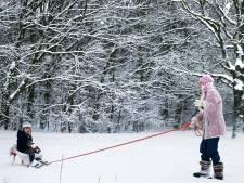 In Brabant wordt het echt even winter met paar centimeter sneeuw die blijft liggen