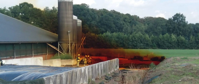 Kuilgassen mais gas gevaarlijk giftig damp maiskuil kuilvoer