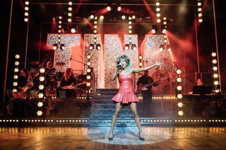 Tina - De Tina Turner musical.  Beeld Manuel Harlan