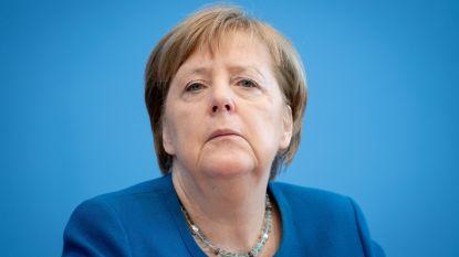 """Merkel: """"Zestig tot zeventig procent van de Duitsers zal besmet raken met coronavirus"""""""