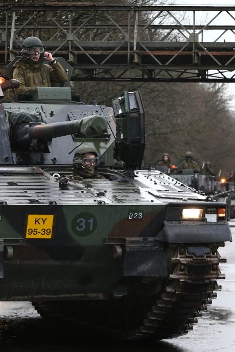 Tankbataljon met Havelter militairen voorbeeld voor digitale samenwerking met Duitse landmacht