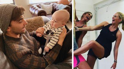SHOWBITS. Mathias Vergels geniet intens van vaderschap en vrouw van Sergio Herman leert paaldansen