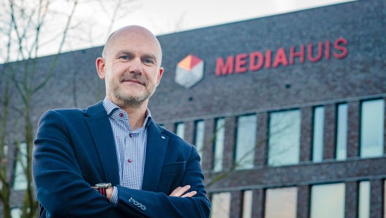 Topman Gert Ysebaert van Mediahuis. Beeld ANP