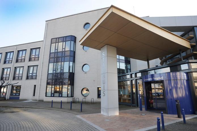 Het gemeentehuis in Veghel