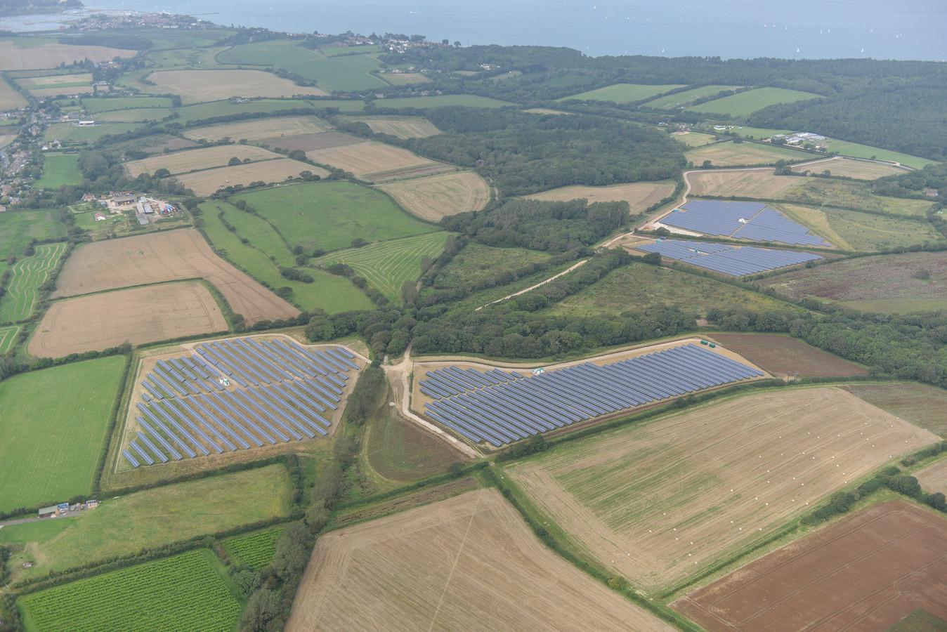 Een van de reeds gerealiseerde zonneparken van Kronos Solar Projects.
