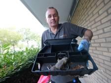 Een dag uit het leven van de rattenvanger van Enschede: 'Werk vaak gewoon in zondagse kleding'