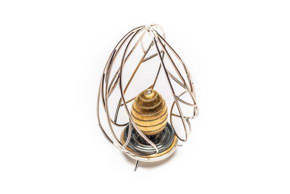 Het Gouden Ei is een creatie van Luikse juwelenmakers Olivier Gangi en Cédric Sansen.