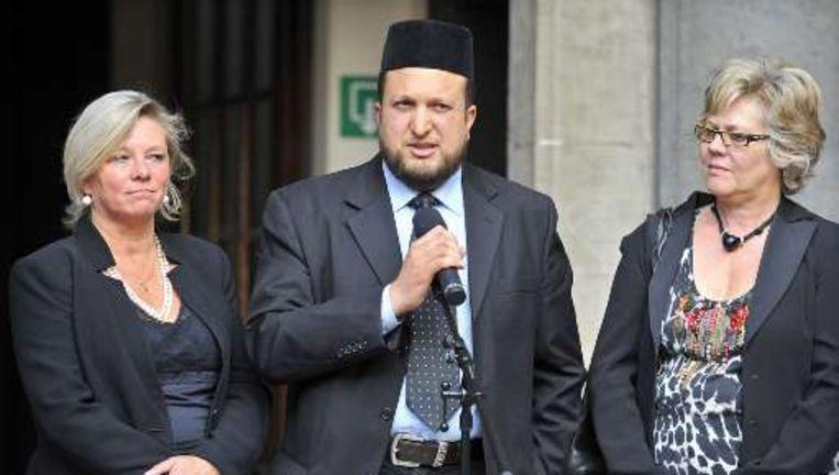 Imam Nordin Taouil heeft zijn felle woorden afgezwakt.