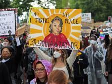 Ébauche de justice pour Breonna Taylor, l'ambulancière noire abattue chez elle par la police