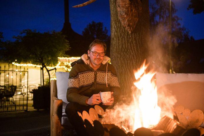 """Rien Mol is nu al in winterse sferen op Het Rheins: """"Dit wordt bet bijzonder""""."""