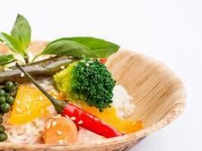 Afbreekbaar servies op de UU: eten met bestek van maïssuiker